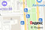 Схема проезда до компании Киоск по продаже печатной продукции в Омске