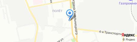 Экострой на карте Омска