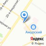 Лилу на карте Омска