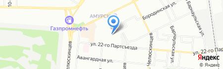 Детский сад №240 на карте Омска