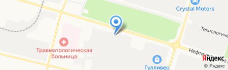 Автоуниверсал на карте Сургута