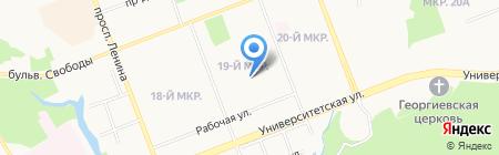 Санкт-Петербургский промышленно-экономический колледж на карте Сургута