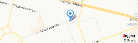 Сургутская межрегиональная коллегия адвокатов на карте Сургута