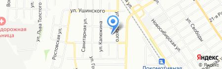 Средняя общеобразовательная школа №59 на карте Омска