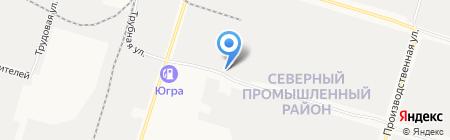 Элкап на карте Сургута