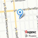 Сёгун на карте Омска