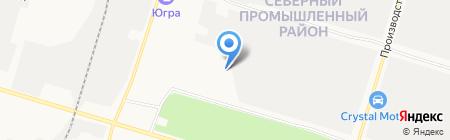 Многофункциональный центр прикладных квалификаций на карте Сургута