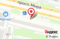 Схема проезда до компании Поликлиника №1 в Сургуте
