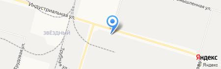 Торгово-монтажная фирма на карте Сургута