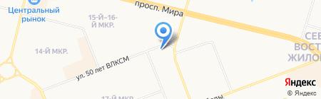 СтройРемСити на карте Сургута