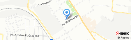 Детский сад №235 на карте Омска