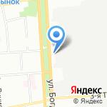 СЛАДКОFF на карте Омска