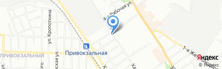 АН Почтарь на карте Омска