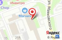 Схема проезда до компании Энергетическая Компания Сургутгазпромэнергосеть в Сургуте