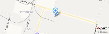 Северавтосервис на карте Сургута