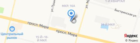Центр профессионального обучения на карте Сургута