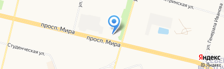 HAZAR на карте Сургута