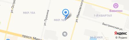 КПРФ на карте Сургута