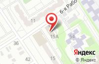Схема проезда до компании Благолетие в Омске