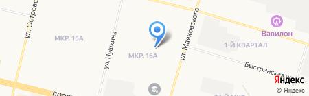 Магазин фруктов и овощей на ул. Маяковского на карте Сургута