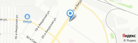 Лира на карте Омска