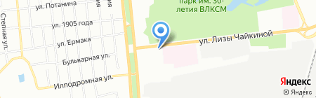 Здоровые Люди Омск на карте Омска