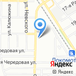 Брино-Авто на карте Омска