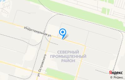 Местоположение на карте пункта техосмотра по адресу Ханты-Мансийский Автономный округ - Югра АО, г Сургут, ул Индустриальная, д 38 стр 14