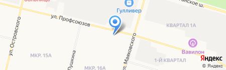 УФМС на карте Сургута