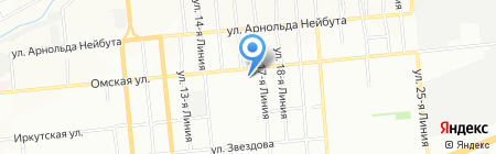 Деловой Союз на карте Омска