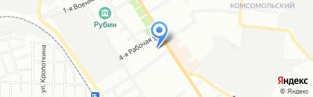 Сиbeerский хмель на карте Омска