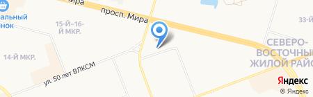 Новости Югры-Производство на карте Сургута