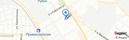 Детский сад №356 на карте Омска