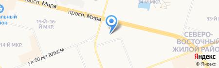 ЭнергоСпектр на карте Сургута
