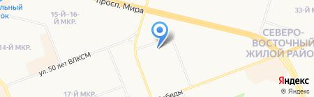 Газпромтранс на карте Сургута