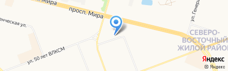 102db на карте Сургута