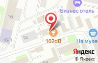Схема проезда до компании Основа в Сургуте
