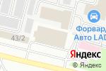 Схема проезда до компании Визитки86.рф в Сургуте