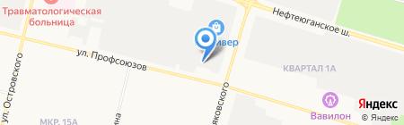 Форвард-Авто на карте Сургута