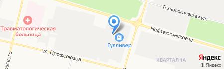 Мебель Club на карте Сургута
