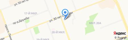 Сургутские электрические сети на карте Сургута