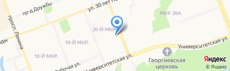 Маэстро на карте Сургута