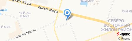 Техносфера на карте Сургута