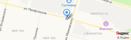 Фотостудия Владимира Горбачева на карте Сургута