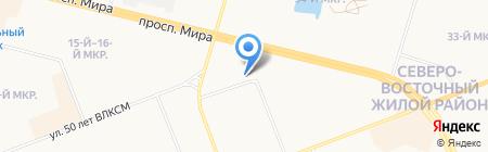 Мастерская по ремонту автомобильных дисков на карте Сургута
