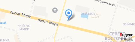 Касумов А.И. на карте Сургута