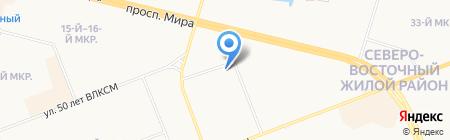 Матисс на карте Сургута