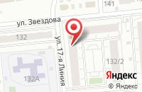 Схема проезда до компании Колесо Обозрения в Омске