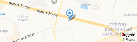 Персональное решение на карте Сургута