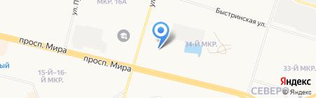 Русский дом на карте Сургута
